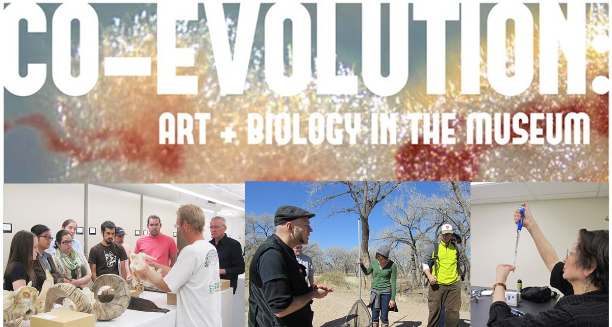 Year 2 - Geographic Variation, CO-EVOLUTION: Art + Biology in the Museum.